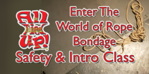 enter the world of rope bondage